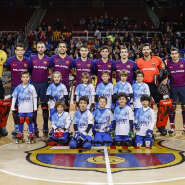 Menudets al Palau Blaugrana