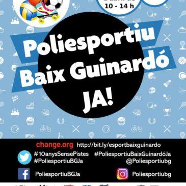 L'Hoquei Claret participa a la reivindicació del poliesportiu